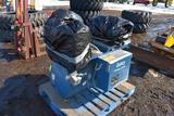 Quincey Air Compressor, Dual, Auto Water