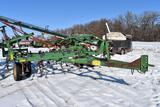 John Deere 960 Field Cultivator, 21', 3 Bar Coil