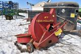 New Holland 27 Silage Blower, Whirl-A-Feed, 540PT