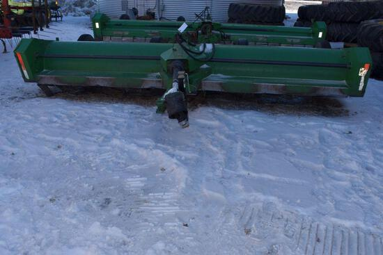 "John Deere 27 Stalk Chopper, 15', 1 3/8"" 1000PTO, 4 Wheel Transport, Hydraulic Lift, Like"