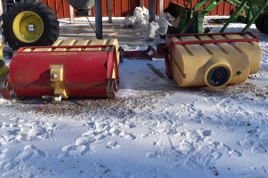 Century 200/400 Gallon Saddle Tanks With Mounting Brackets