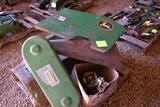 John Deere 40 series corn head parts, gathering chains, sprockets, Side Shield off of JD Stalk
