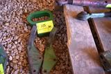 (2) Left Hand John Deere Hydraulic Cylinder Brackets, and one safety chain guide