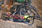 Assorted Hydraulic Cylinders With Hoses, 3 Total