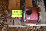 Clamp on hitch for haying equipment