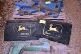 Pair Of John Deere Mud Flaps