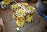 (4) John Deere Cast Wheel Extensions, 21