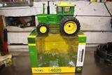 Prestige Ertl John Deere 4620 Tractor With Cab, 1/16, With Box