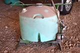 Shop Built UTV Sprayer, 100 Gallon Poly Tank, Pallet Fork Slots, 12 Volt Pump,