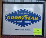 Single Sided Goodyear Farm Tires 18