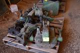 John Deere Parts, (2) Hydraulic Pumps, (2) Rock Shafts for 4010 & 4020, Steering Sector Parts,