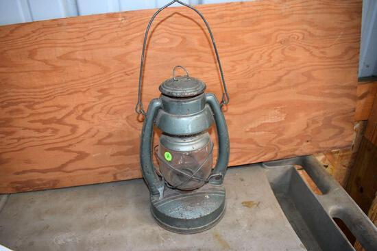 Hanging Kerosene Lantern, Stamped Coast to Coast
