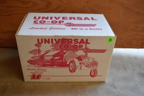 Universal Co-op Custom 618 Tractor, 1/16 Scale, Limited Edition, 4th in a Series