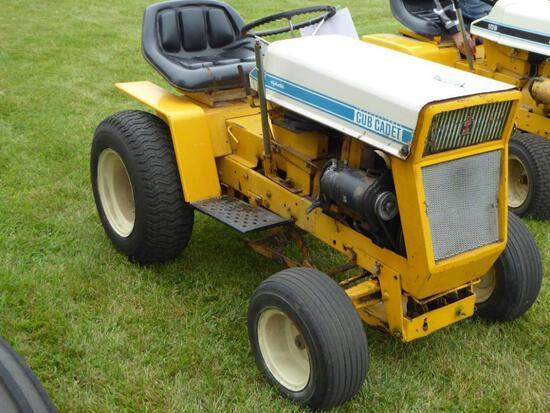 "Cub Cadet 125 Hydro Garden Tractor, 48"" Deck, Runs"