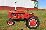 1945 Farmall B, Narrow Front, Belt Pully, Fenders, 11.2x24 Tires, PTO, Restored, SN: 135479