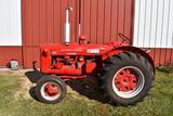 1949 McCormick-Deering W-4 Standard, Gas, Belt Pulley, Fenders, 540PTO, Draw Bar, New 14.9x26 Tires,