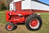 1952 McCormick-Deering W-6 Standard Super, Gas, Belt Pully, Fenders, Wheel Weights, Draw Bar,