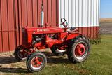 1939 Farmall A, Gas, Wide Front, 11.2x24 Tires, Wheel Weights, Belt Pully, Fenders, Restored,