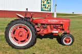 1951 Farmall H, Gas, Narrow Front, 12.4x38 Tires, Belt Pully, 540PTO, Wheel Weights, Restored, Runs,