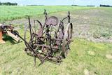 2 Row Cultivator, on Steel Wheels