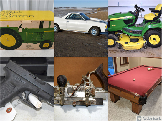 ONLINE ONLY DOUBLE ESTATE AUCTION
