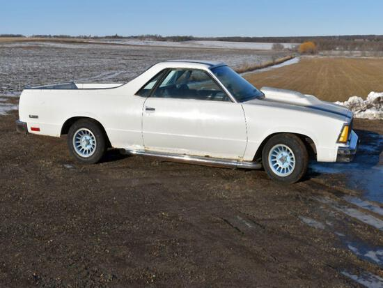 1980 Chevy El Camino, 3.8L, Auto, Many New Parts, Runs and Drives