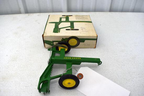 Original Ice Cream Box Ertl John Deere Mower, Box in good condition with some wear