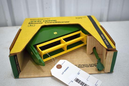 Ertl Blue Print Replica John Deere Mower Conditioner 1/16 scale with box