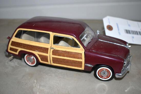 Franklin Mint 1949 Ford Woody Wagon, No Box