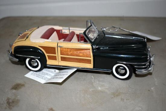 Franklin Mint 1948 Chrysler Town & Country Car, No Box