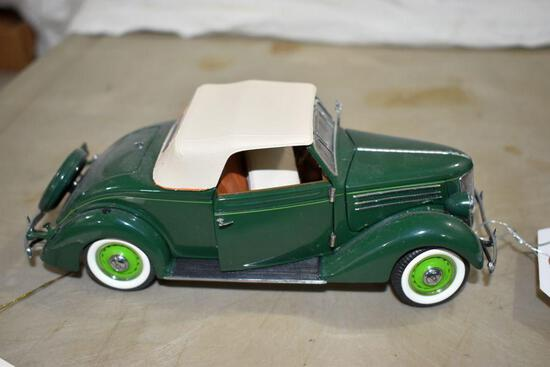 Franklin Mint 1936 Ford Coupe with Rumble Seat