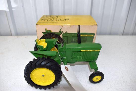 Ertl John Deere Original Ice Cream Box 3020 Tractor, Box In Good Condition Shows Wear