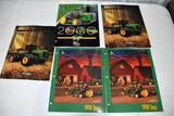 5 1990's John Deere Toy Catalogs