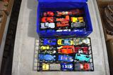 Hot Wheels Case and Cars