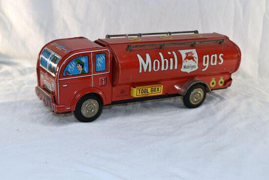 Tin friction Mobile Gas truck