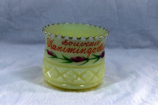Custard glass from Wanamingo MN
