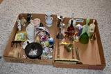 Assortment of bells and figurines 2 boxes