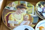 Assorted Avon commemorative plates