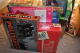 Three Boxes of Children's Games and Puzzles