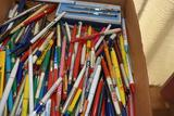 Large Assortment of Pens and Pencils