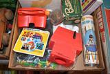 Play-Doh toys, play money, Pik-Up Sticks, View-Master, kids toys