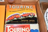 Assortment of touring card games