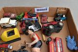 Assortment of 1/64 scale toys