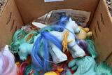 Assortment of My Little Pony toys