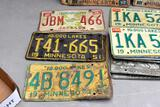 Assortment of License plates