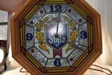 Heileman Old Style clock, lighted, 15