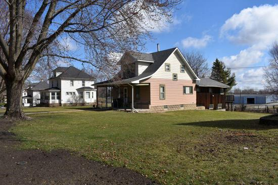 4 Bedroom, 2 Bath Two Story Home, located at 535 Red Wing Ave., Kenyon, MN