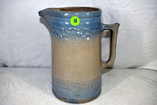 Cherry band pitcher has crack on inside of pitcher