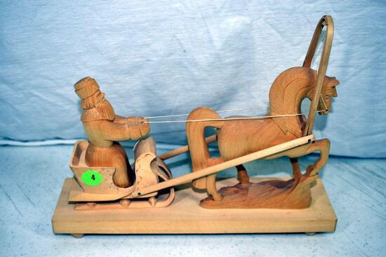 Scandinavian wooden carving