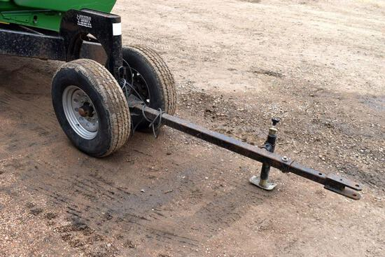 2016 I.A. 845 Head Cart, 45', Tricycle Front, Tandem, Brakes, Lights